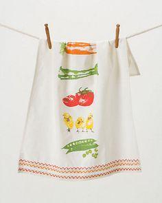 Farm Fresh dish towel