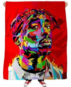 California Love Fleece Blanket ~  Make sure you're keeping the legend alive with this sick California Love Fleece Blanket design featuring 2pac https://shop.ragejunkie.com/collections/blankets/products/california-love-fleece-blanket?variant=34772572492