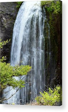 Beautiful Clear Creek Falls in the Pacific Northwest by Artist/Photographer Larissa Bjurlin of LKB Art & Photography