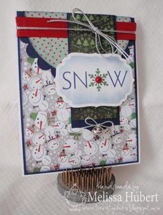 Sweet Snowman Paper Card...