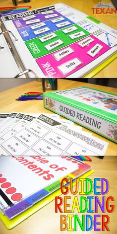 Do you have a love-hate relationship with guided reading?  It's such a powerful learning time (especially in Kindergarten, First Grade, and Second Grade), but organization, planning, and prep seem daunting.  I love having a binder that houses all of my assessments, lesson plan templates, group activities, and more.  It really does make the day to day of small group literacy run so smoothly!