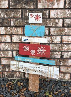 Rustic Pallet Wood Christmas Tree / Wooden Christmas Tree /