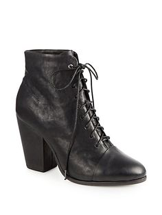 Rag & Bone - Miles Lace-Up Ankle Boots