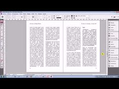 Diseño Editorial de un libro en InDesign (Parte 1)