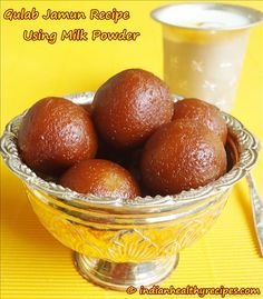 Gulab Jamun Recipe using Milk powder