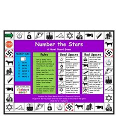 Number the Stars Board Game - TPT $1.19