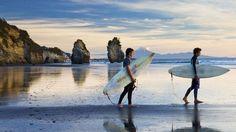 Taranaki, New Zealand a hidden surfers paradise #JetsetterCurator