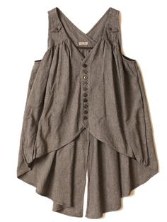 Tunic or vest?  Fab and full.