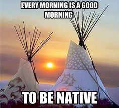 Native .... Proud to be