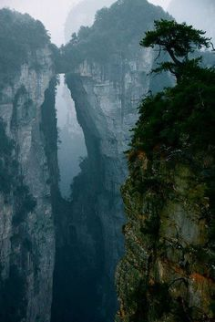 Mountain Portal, China