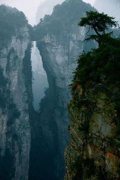 Mountain Portal, China