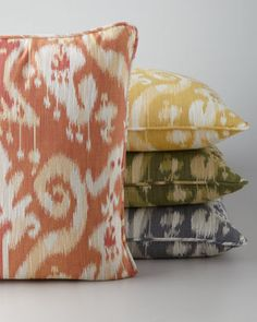 I just love 'Ikat' fabrics and in any colour!