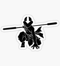 Avatar stickers featuring millions of original designs created by independent artists. Tumblr Stickers, Anime Stickers, Laptop Stickers, Cute Stickers, The Last Avatar, Avatar The Last Airbender Art, Avatar Aang, Korra Comic, Avatar Characters