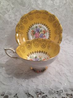Flawless Vintage Royal Standard Tea Cup and by MySweetMadison