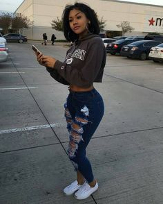 Black girl swag outfits beautiful black women, ideas about stylish sw Swag Girl Outfits, Fall Outfits, Summer Outfits, Casual Outfits, Fashion Outfits, Lit Outfits, Casual Wear, Teenage Outfits, Fashion Top