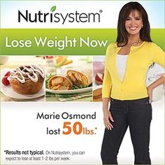 Marie Osmond Lost 50 Pounds on Nutrisystem  sc 1 st  Pinterest & 11 best Marie Osmond Enndorses images on Pinterest | Fast weight ...