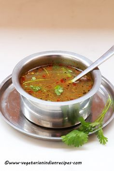 Pepper rasam recipe / milagu rasam is a tasty South Indian dish which can be served with rice, and poriyal. Pepper rassam is made with pepper, cumin seeds and garlic and is also effective for curing cold. Veg Recipes, Curry Recipes, Indian Food Recipes, Cooking Recipes, South Indian Vegetarian Recipes, Andhra Recipes, Kerala Recipes, Microwave Recipes, Indian Soup