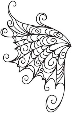 Delicate Wings design (UTZH1398) from UrbanThreads.com