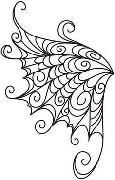 Delicate Wings design (UTZH1398) from UrbanThreads.com  25 September 2012