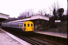 ELTHAM PARK STATION | ELTHAM | ROYAL BOROUGH OF GREENWICH | LONDON | ENGLAND: *Closed: c. 1985*