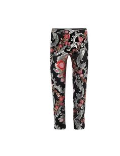 Osman floral brocade trousers