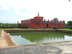According to Buddhist tradition, Lumbini is the name of the birthplace of Siddhartha Gautma, also known as the Buddha. Lumbini is located in present-day Rummindei, in the Terai region of Southern Nepal. Buddha Temple, Pakistan Travel, Visit India, Historical Monuments, Famous Places, Archaeological Site, Pilgrimage, Nepal, Places To Visit