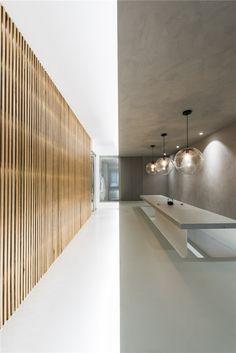 archstudio mixes materials to blend spaces in beijing's townhouse