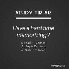 Study tips college - Have any tips for memorizing studygram school studyblr studyingwhat studytips essentials studying student onmydesk reading notes medfacts funfacts medicine whoknew medschool nurses Life Hacks For School, School Study Tips, Study Tips For Exams, Revision Tips, Tips On Studying, Quotes About Studying, Quotes For School, College Study Tips, School Ideas