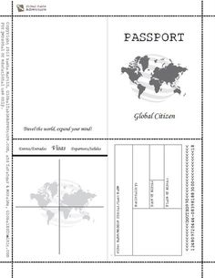 Adorable image with regard to printable passports
