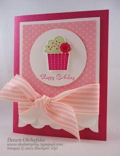 Stampin' Up! - Create a Cupcake & Punch by lena