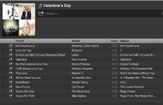 Romantic mixtape, version 2013: Use Spotify or other app to create a playlist.