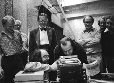 The Behind the Scenes Pic of the Day: Kubrick, Nicholson and Turkel on the set of The Shining!