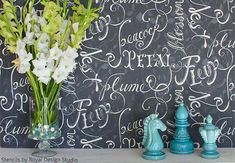 How to Blend 2 Stencils into 1 Design - Paint + Pattern