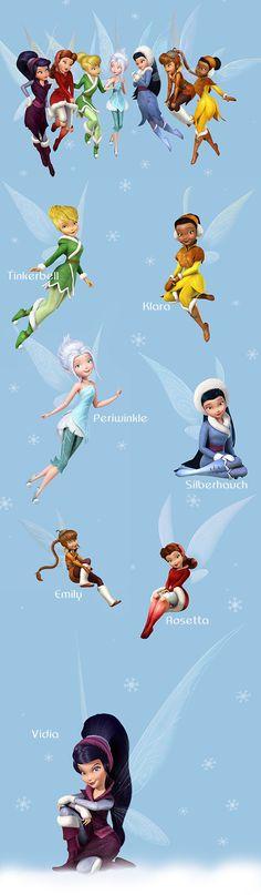 Das Geheimnis der Feenflügel -  die Feen © Disney