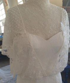 Nossos detalhes... Feitos com muito amor! Wedding Dress Atelier Carla Gaspar.