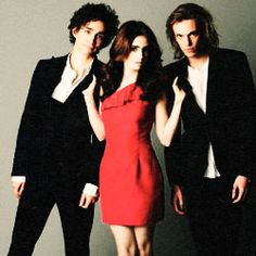 Robert Sheehan, Lily Collins and Jamie Campbell Bower