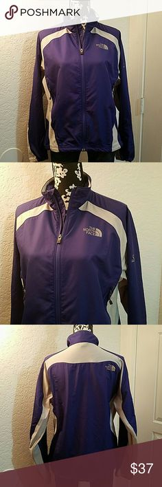 The North Face jacket Lightweight flight series northface jacket Purple & Gray  Size large  Excellent pre-owned condition  No holes or rips  ??No Trades The North Face Jackets & Coats