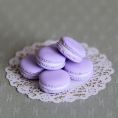 Pastel Purple Macaroon Favors #AllAboutTheColor#OPIEuroCentrale #YoureSuchABudaPest