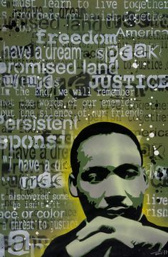 African American Art Art - Martin Luther King by Iosua Tai Taeoalii African American Artwork, African American History, African Art, King Painting, Martin Luther King, Black History Month, Art Pages, Elementary Art, Art Lessons