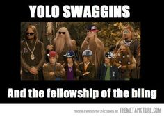 The fellowship of the bling