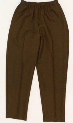 Alfred Dunner Classics Petite Elastic Waist Pants
