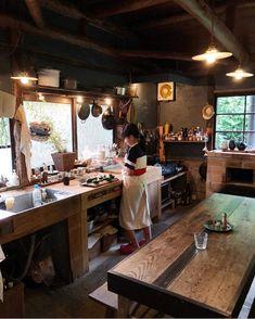 - Best ideas for decoration and makeup - Narrow Kitchen, Kitchen Dining, Kitchen Decor, Kitchen Cabinets Models, Kitchen Models, Japanese Kitchen, Japanese House, Küchen Design, House Design
