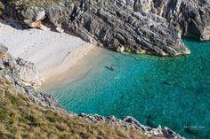 Skaloma Bay. Karaburun Peninsula. Vlore. Albania