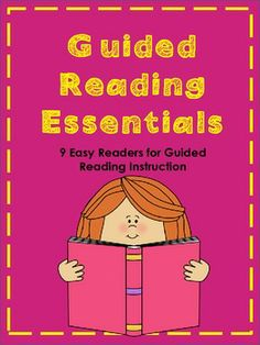 Guided Reading Essentials: 9 Printable Books for Emergent Readers