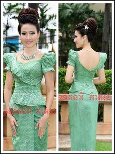 Myanmar Traditional Dress, Traditional Dresses, Myanmar Dress Design, Kebaya Brokat, Indian Skirt, African Prints, Women's Fashion, Fashion Design, Ankara