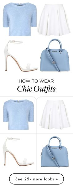 """Chic Look #7."" by mzelleshort on Polyvore featuring moda, Zara, Topshop, Glamorous e Michael Kors"