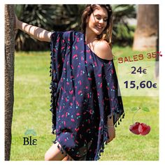 Summer Sales just started! Get this wonderful cherry blouse with 35% discount! Click on the link below to order it http://www.ble-shop.com/catalog/product/view/id/3166/s/blouse-in-blue-color-w-red-cherries-one-size-100-viscose/ ‪#‎SummerSales‬ ‪#‎BleResortCollection‬ #SummerClothes #SummerStyle