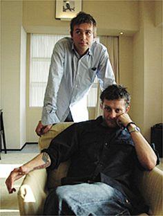 Jamie Hewlett and Damon Albarn <3