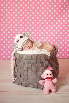 Newborn Photography prop  Baby crochet by sugarandspicecrochet, $17.00