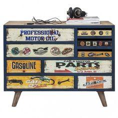 cómoda vintage Garage Style 9